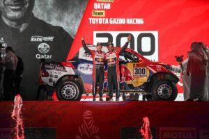 Podium Dakar 2020